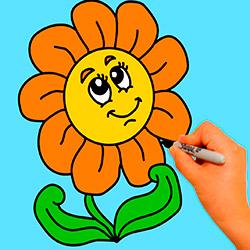 como-dibujar-una-flor-paso-a-paso